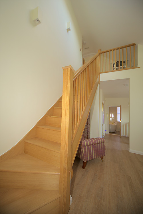 Emsworth - stairs to attic