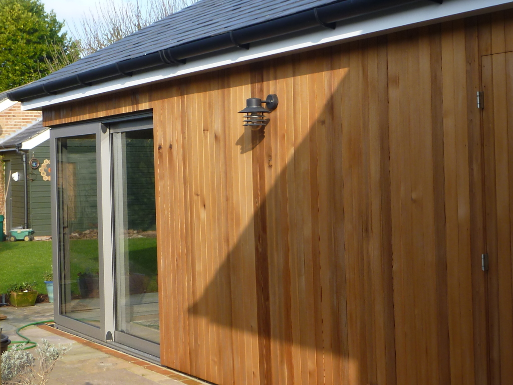 SW Emsworth – Exterior cedar cladding