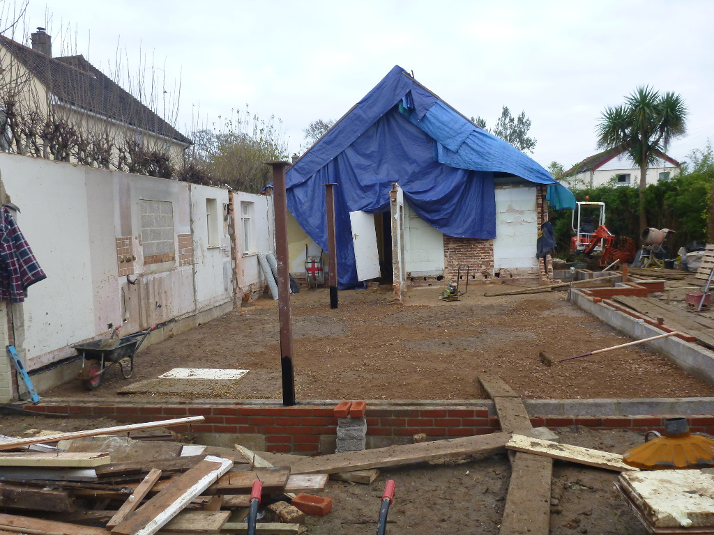 SW Emsworth – Footings in place