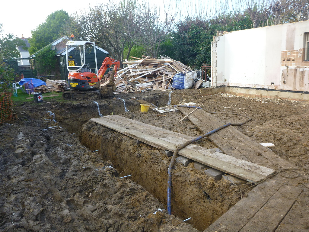 SW Emsworth – Foundation trenches