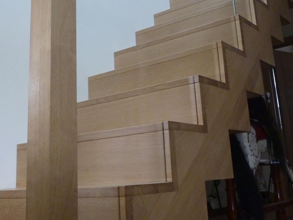 SW Emsworth – Oak staircase